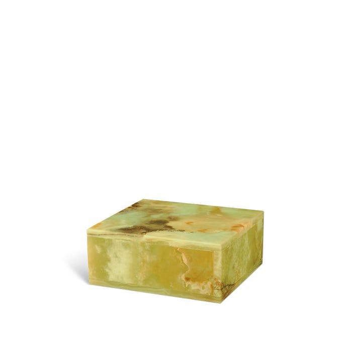 Onyx Box, Variegated Green