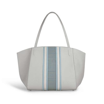 Harbour Tote in Seashell Bullskin & Horsehair