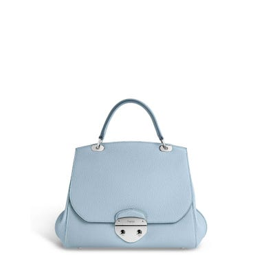 Belle Midi in Sky Blue Bullskin