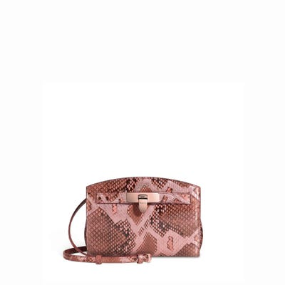 1781 Pochette in Copper Rose Python