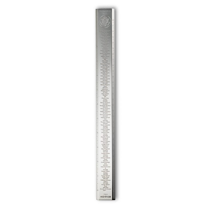 Presidents Ruler, Silver