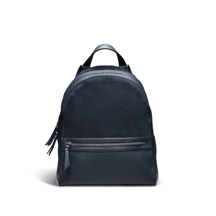 GMT Backpack in Bullskin & Nubuck Leather