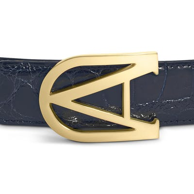 40 mm Burlington Belt Buckle in Gold Finish