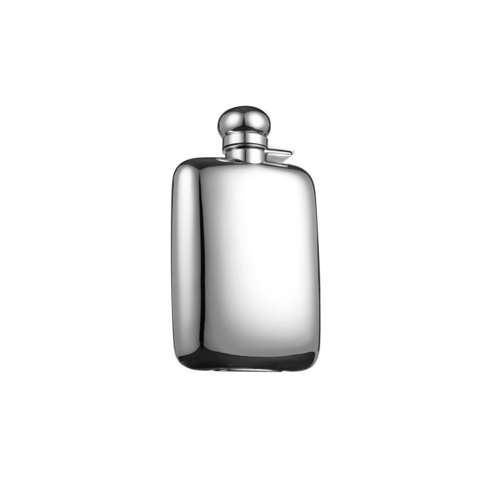 Classic Hip Flask, Silver