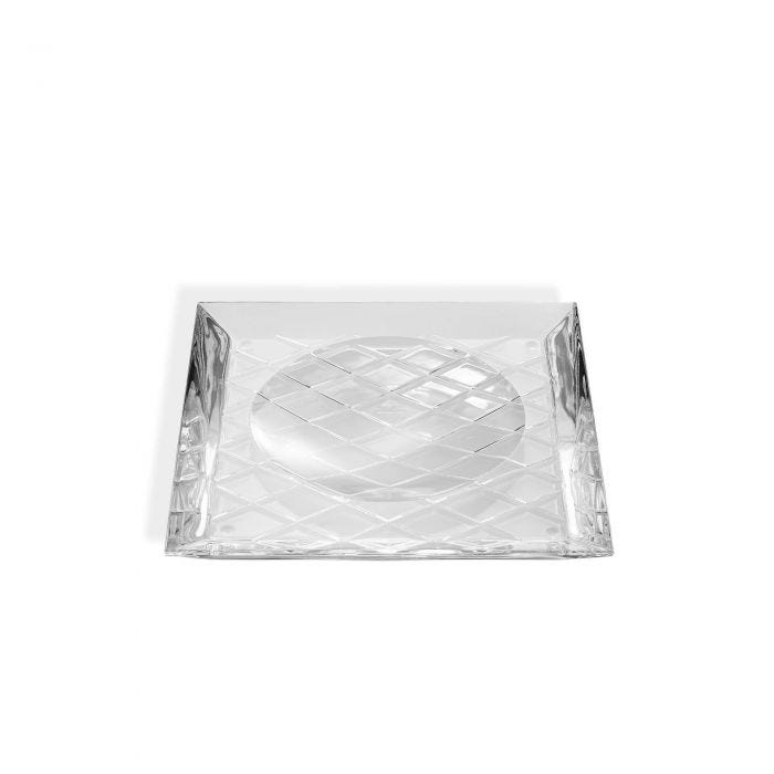 Crosshatch Vide Poche, Clear
