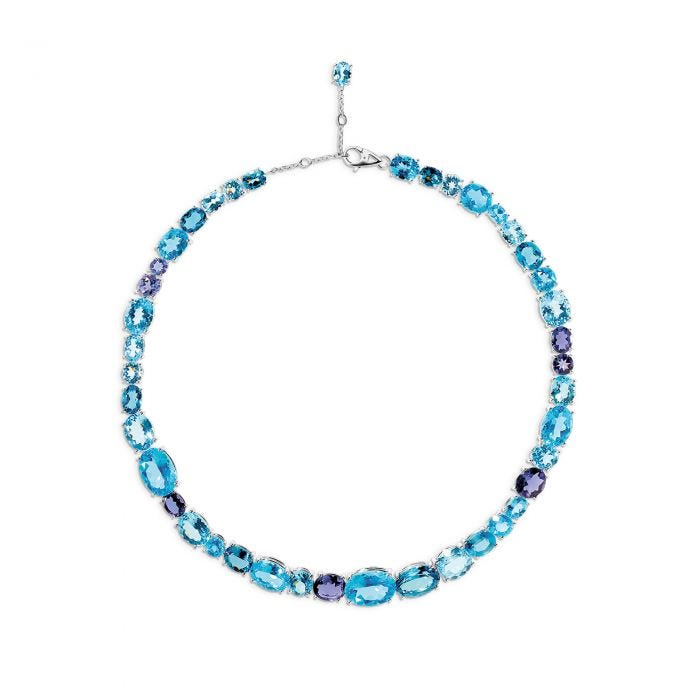 Blue Chaos Necklace