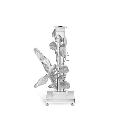 Dove Candlestick, Silver