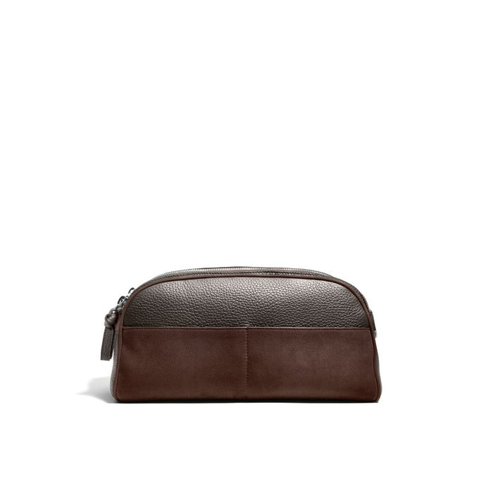 GMT Wash Bag in Bullskin & Nubuck
