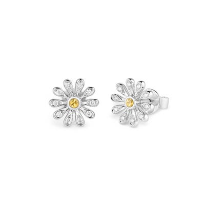 Mini Daisy Large Earrings