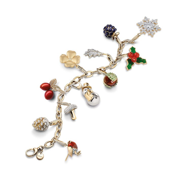 Woodland Holly Charm