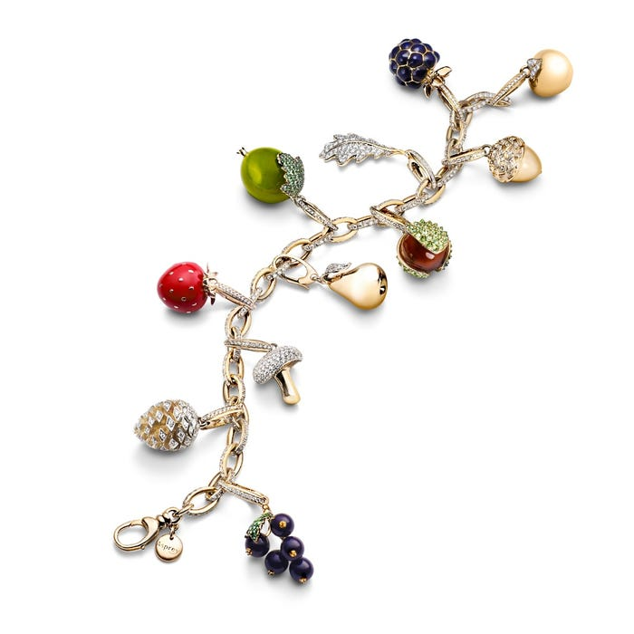 Woodland Apple Charm