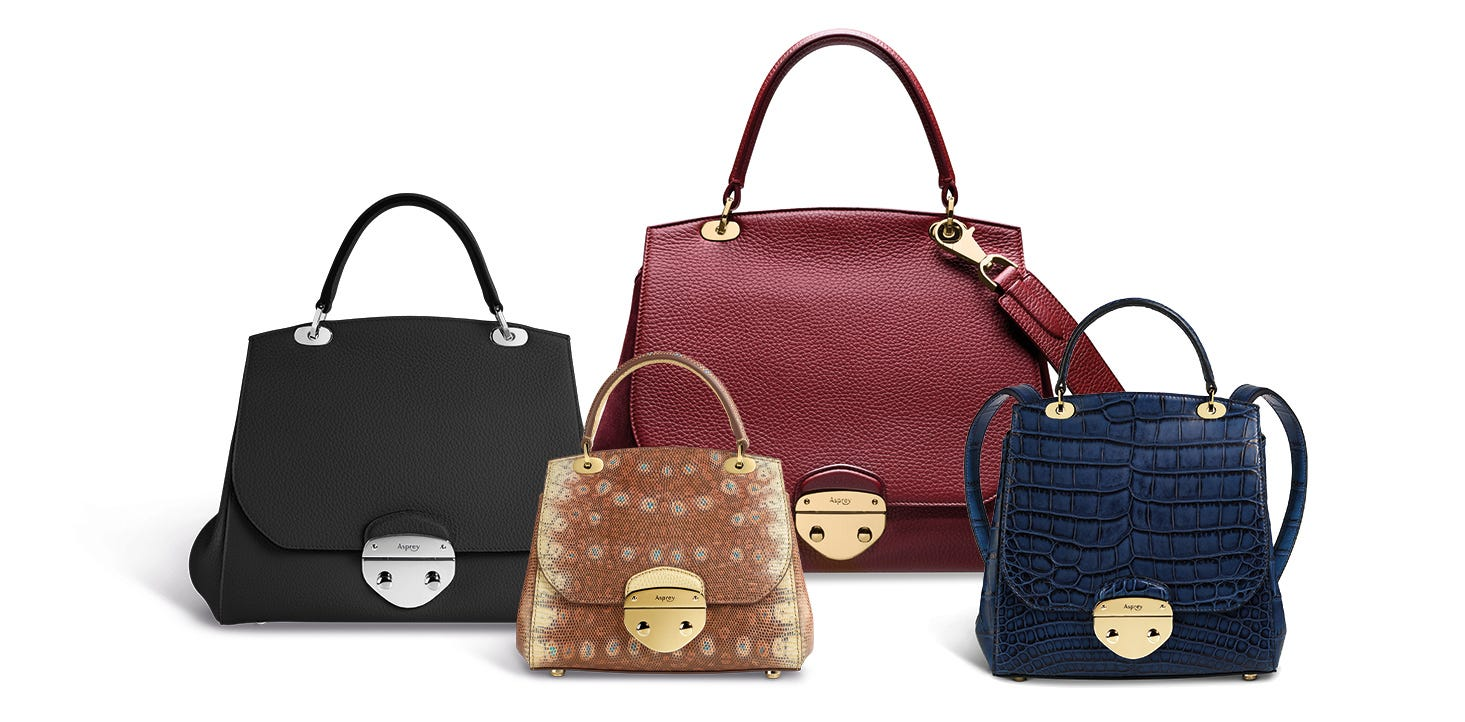 Asprey's Belle Handbags