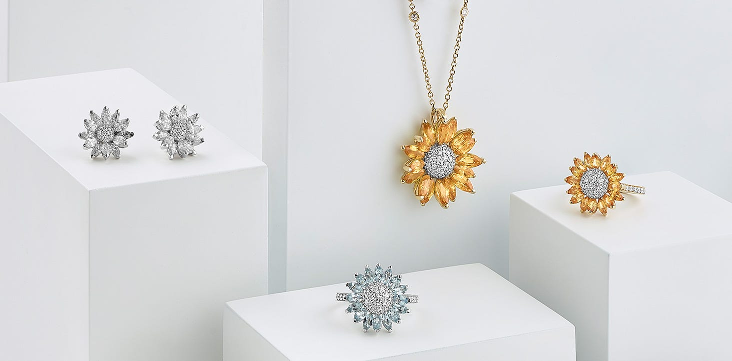 Asprey Daisy Jewellery Collection