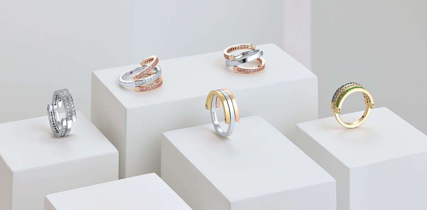 Asprey's Flip Rings Collection