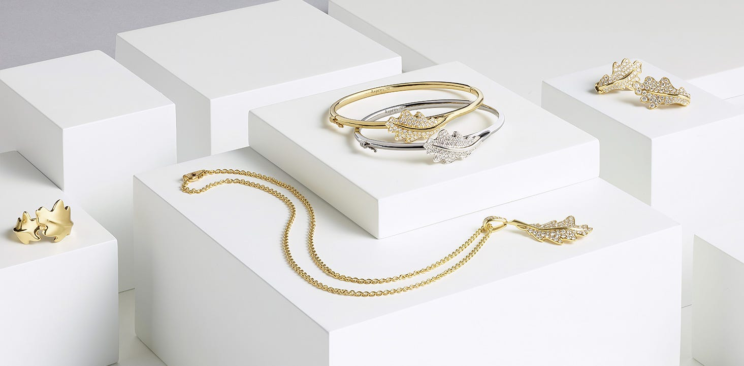 Asprey Woodland Collection Jewellery