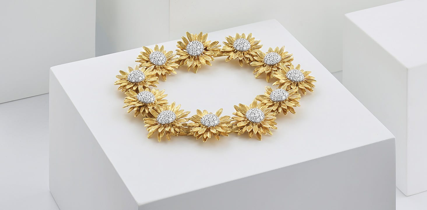 Asprey Sunflower Jewellery Collection