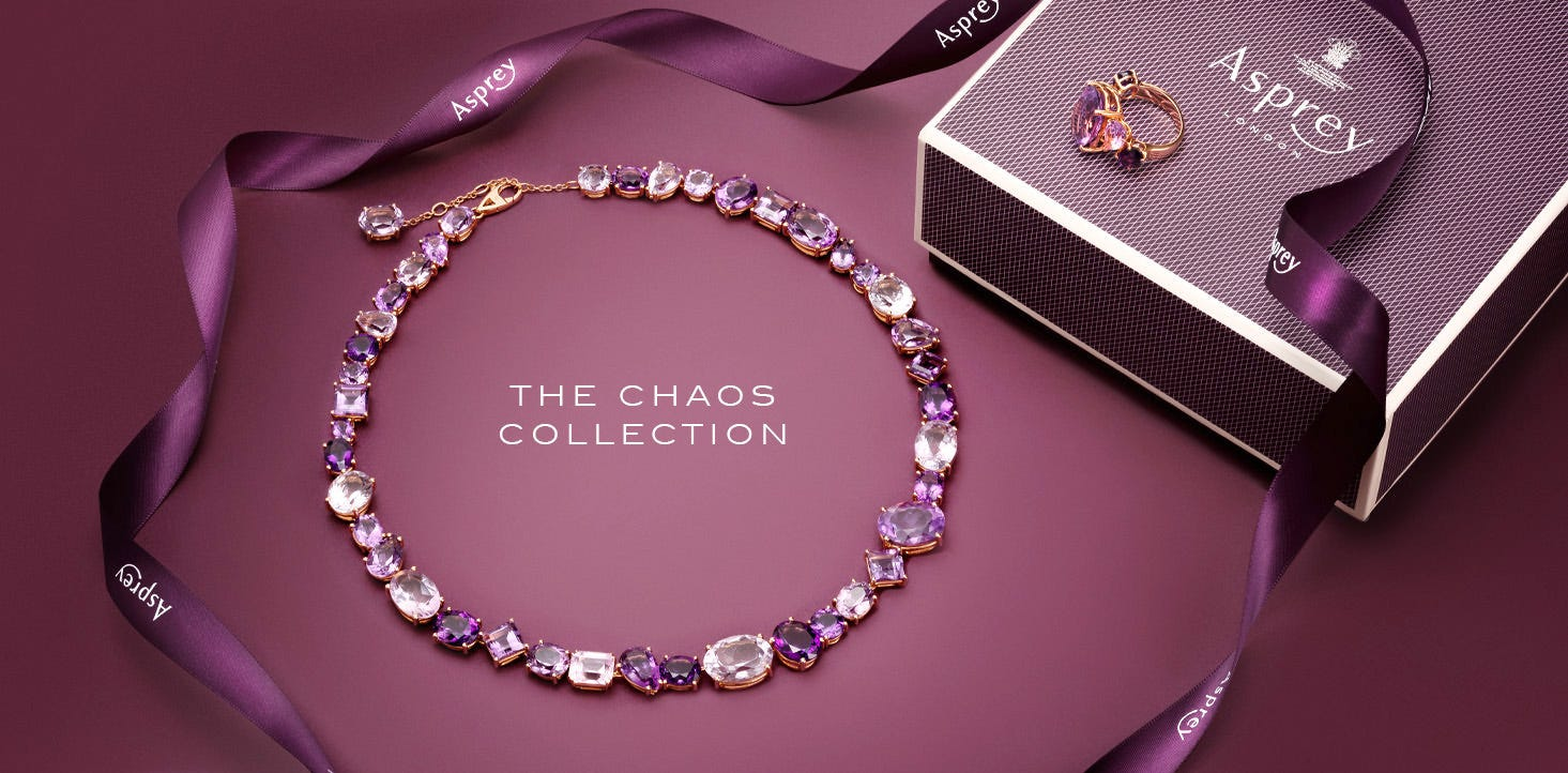 Asprey Chaos Collection Jewellery